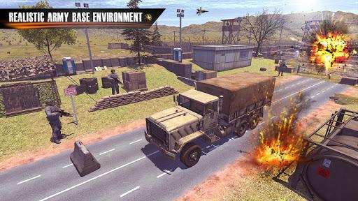 New Army Truck simulator: Free Driving Games 2021 2.0.19 screenshots 4