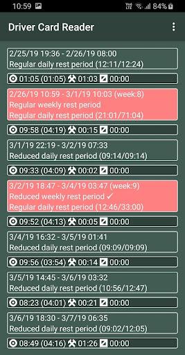 Driver Card Reader  Screenshots 16