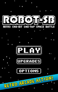 ROBOT-SB -- Retro One-Bit One-Tap Space Battle