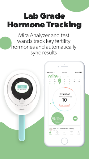 Mira Fertility & Ovulation Tracker screenshot 1