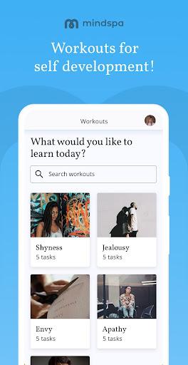 Mindspa: Psychology, Self-Care, Mental Health Help 1.0.58 Screenshots 3