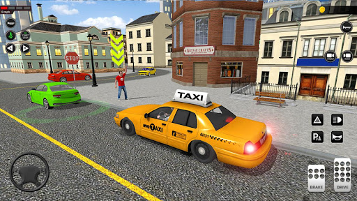 City Taxi Driving simulator: PVP Cab Games 2020 apktram screenshots 1