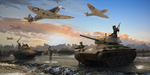 Télécharger gratuit World at War: WW2 Strategy MMO APK MOD 2