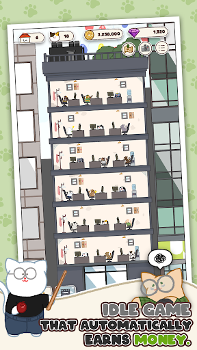 Cat Inc.: Idle Company Tycoon Simulation Game 1.0.21 screenshots 2