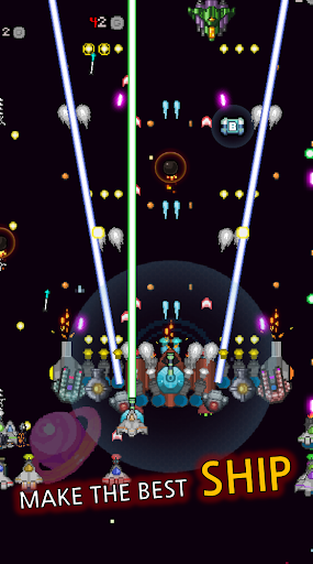 Grow Spaceship - Galaxy Battle apktram screenshots 5