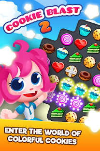Cookie Blast 2 - Crush Frenzy Match 3 Mania