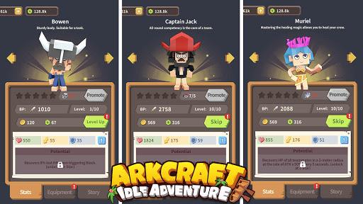 Arkcraft - Idle Adventure 0.0.5 screenshots 5