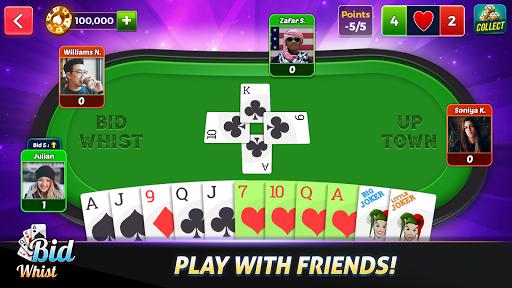 Bid Whist - Best Trick Taking Spades Card Games 12.0 screenshots 4