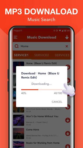Free MP3 Sounds - Download Music MP3 apktram screenshots 2
