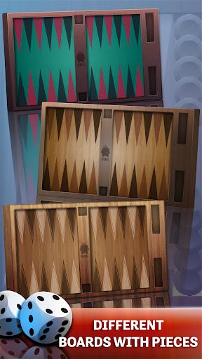 backgammon - offline free board games screenshot 3