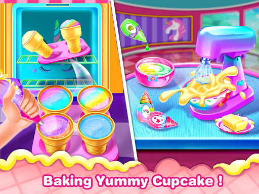 Ice Cream Cone Cupcake-Cupcake Mania 1.5 Screenshots 2