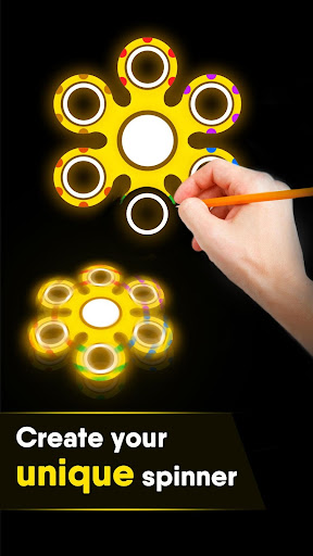 Draw Finger Spinner 1.1.5 screenshots 5