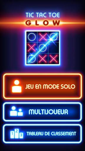 Code Triche Glow Tic Tac Toe (Astuce) APK MOD screenshots 1