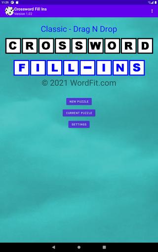 Classic Drag-n-Drop Crossword Fill-Ins 1.21 screenshots 11