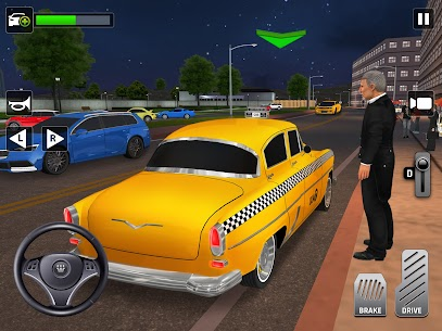 City Taxi Driving: Fun 3D Car Driver Simulator 10