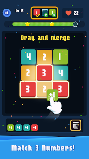 Merge Plus - Merge Number Puzzle  screenshots 1