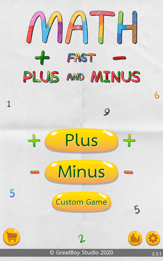Math Fast Plus and Minus 2.3.1 screenshots 1