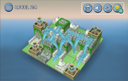 Flow Water Fountain 3D Puzzle 1.2 Screenshots 13