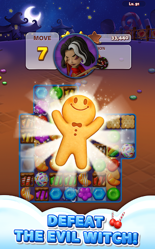 Sweet Road: Cookie Rescue Free Match 3 Puzzle Game screenshots 19