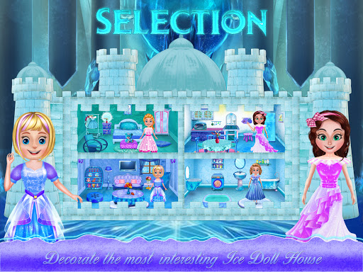 Ice Doll House Design: Decoration games 1.0.7 screenshots 1