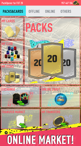 Pack Opener for FUT 20 by SMOQ GAMES 4.49 Screenshots 2