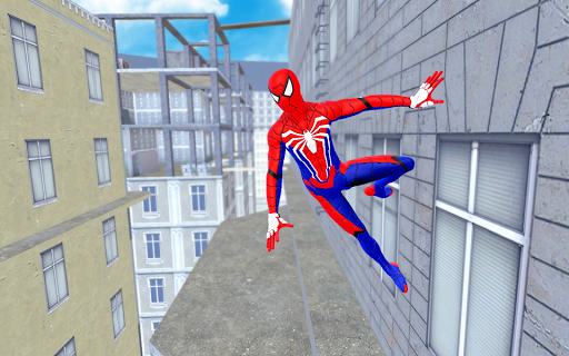 Spider Hero Fight Gangster Rope Battle Crime City apklade screenshots 2