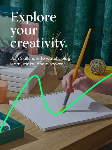 Skillshare - Creative Classes 5.3.8 Screenshots 5