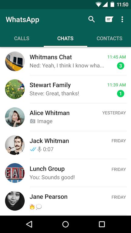 WhatsApp Messenger poster 5