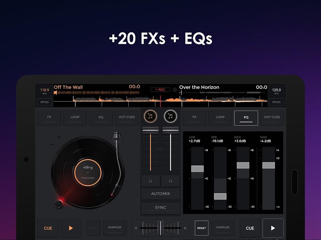 edjing Mix - Free Music DJ app  poster 13