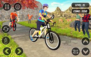 BMX Mountain Climb – MTB Hill & Bicycle Racing