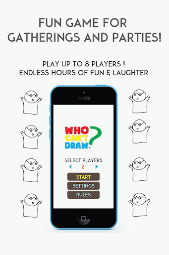 who can't draw - party game! screenshot 1