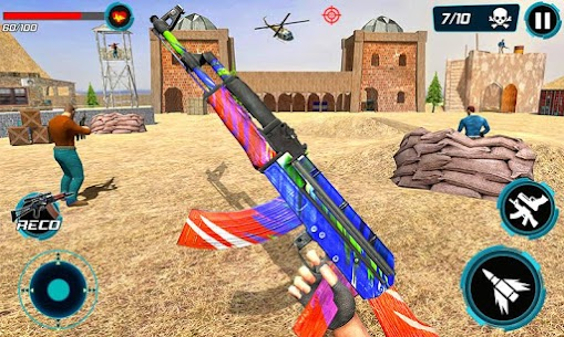 Combat Shooter 2: FPS Shooting Game Mod Apk (Dumb Enemy) 5