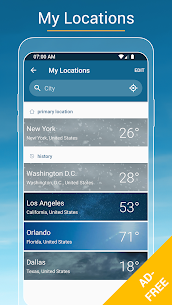 Weather & Radar USA Mod Apk- Winter alerts (Paid/Mod Extra) 4