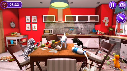 Pet Cat Simulator Family Game Home Adventure Apkfinish screenshots 2