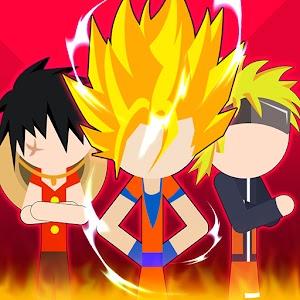 Super Stick Fight AllStar Hero Chaos War Battle 1.7 by ONEGAME GLOBAL logo