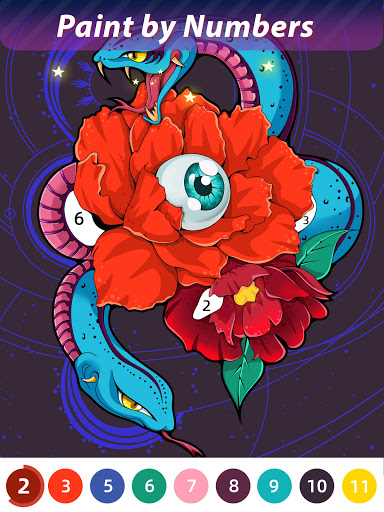Flora Coloring: Color by Number Painting Game 1.0.10 screenshots 9
