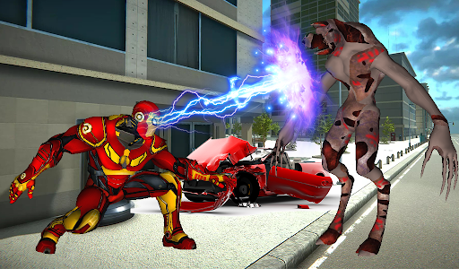 Iron Spider Ultimate Superhero Rope  screenshots 4
