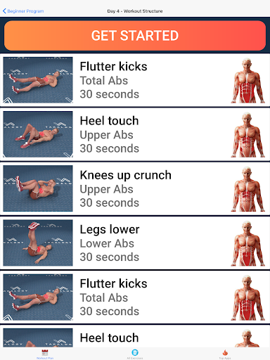 Six Pack in 30 Days - Abs Workout 1.5.0 Screenshots 12