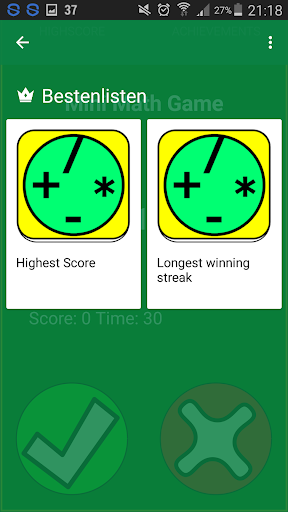 Speed mental math Game ud83cudfb2 android2mod screenshots 2