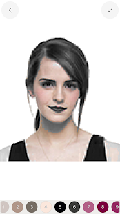 Stars Color By Number - Sandbox Coloring Pixel Art