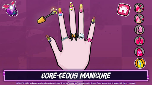 Monster Highu2122 Beauty Shop: Fangtastic Fashion Game  Screenshots 13