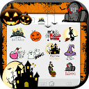 Scary Halloween Emoji Stickers