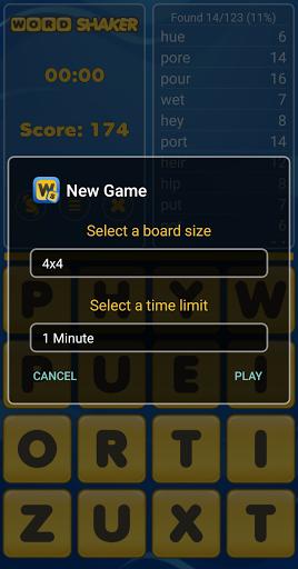 Word Shaker Free 4.1 screenshots 6