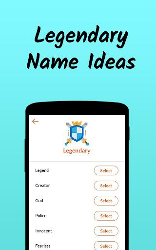 Nickname Fire ud83dudd25 : Free Nickfinder App ud83dudc8e android2mod screenshots 5