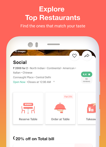 Dineout:Find Restaurants, Deals & Assured Cashback 9.9.5 screenshots 2