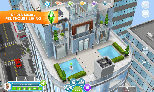The Sims FreePlay apklade screenshots 1