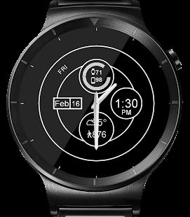 Chrono Shine HD Watch Face Widget & Live Wallpaper