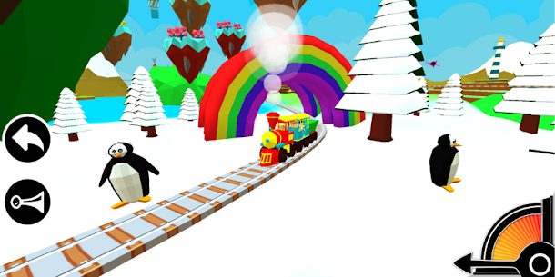 3D Train Engine Driving Game For Kids & Toddlers 1.8 [Mod + APK] Android 2