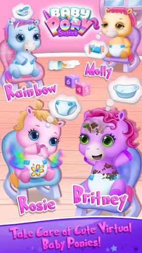 Baby Pony Sisters - Virtual Pet Care & Horse Nanny  screenshots 1