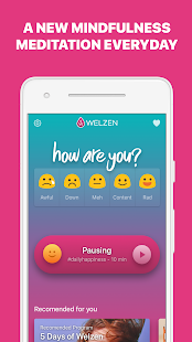 Welzen: meditations to relax, focus & sleep better Screenshot